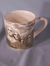 Mt. Rushmore National Memorial Shrine of Democracy coffee cup approx 3.3... - $5.95