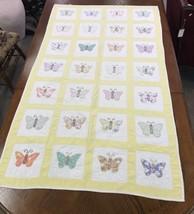Quilt Butterfly Handmade - $96.75