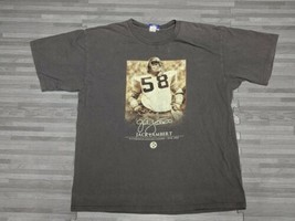 VTG NFL Pittsburgh Steelers Jack Lambert legend Reebok shirt Men's L  - $18.50