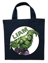 Incredible Hulk Trick or Treat Bag - Personalized Incredible Hulk Hallow... - $11.99+