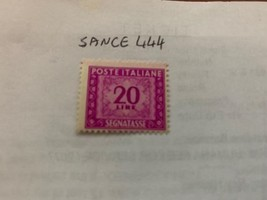 Italy Segnatasse 20L mnh 1947  stamps - $59.95