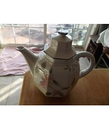 Mikasa Silk Flowers 6 inch coffee pot 1 available - $24.70