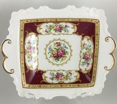 "Royal Albert Lady Hamilton Bon Bon dish 8 "" - $35.00"