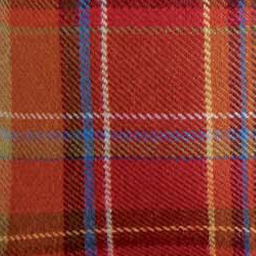 Primary image for Longaberger Tall Tissue Basket Toboso Plaid Fall Fabric OE Liner Only New