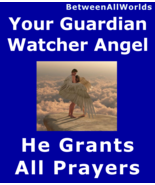 spr A Loving Male Prayer Granting Watcher Angel + Protection Wealth Love... - $157.23