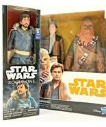 Star Wars Chewbacca & Han Solo & Rogue One Cassian Andor (Jedha) Bundle ... - $32.71