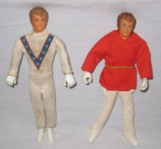 "NEAT Pair Vintage 1972 7"" Ideal EVEL KNIEVEL Dolls - $39.98"