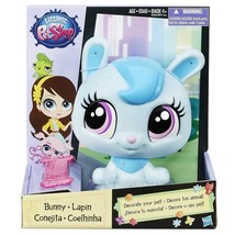 "Toy Hasbro Littlest Pet Shop Decorate Your Pet 8"" Collectable Figure Blu... - $20.95"