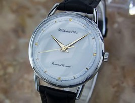 Mens Citizen Ace 36mm Hand-Wind Dress Watch, c.1960s Vintage Y52 - $771.21