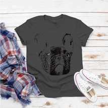 Frenchie Face Dog Mom Or Dad Christmas T-Shirt Ideas Birthday Gift Vinta... - $15.99+
