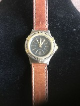 Vintage Ladies Gitano Analog Quartz Watch 9686 Needs Battery - $15.00
