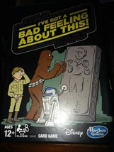 Hasbro Star Wars I've Got a Bad Feeling About This - Card Game Used Complete  - $7.77