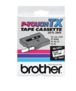 "NEW Brother P-Touch Tape Cassette Black on Clear TX-1311 1/2"" PT-8000 PT... - $18.90"