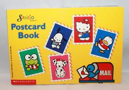 Scholastic Sanrio Postcard Book Hello Kitty Keroppi Pochacco Pekkele Spottie - $32.23