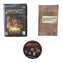 Indiana Jones And The Emperors Tomb PS2 PlayStation 2 Complete Free Shipping - $14.80