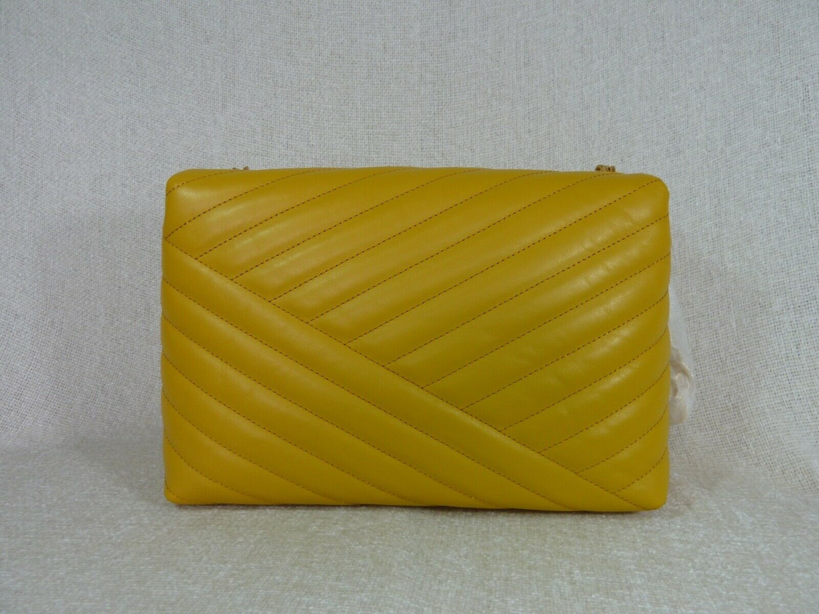 NWT Tory Burch Daylily Kira Chevron Flap Shoulder Bag $528 image 4