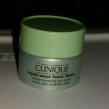 Clinique Repairwear Laser Focus Wrinkle Correcting Eye Beauty Cream 0.17... - $13.55