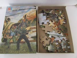 VTG 1987 MILTON BRADLEY HASBRO GI JOE 60 PC PUZZLE #4856-2 USE FOR PARTS... - $3.91
