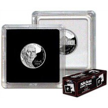 BCW 2x2 Premium Snaplock Coin Holders for Nickel 21.2mm 25 pack - $11.69