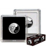 BCW 2x2 Premium Snaplock Coin Holders for Nickel 21.2mm 25 pack - $15.65 CAD