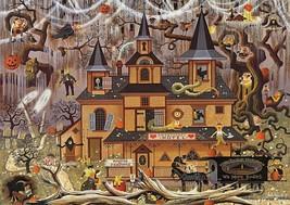 Buffalo Games - Charles Wysocki - Trick or Treat Hotel - 500 Piece Jigsaw Puz... - $14.00
