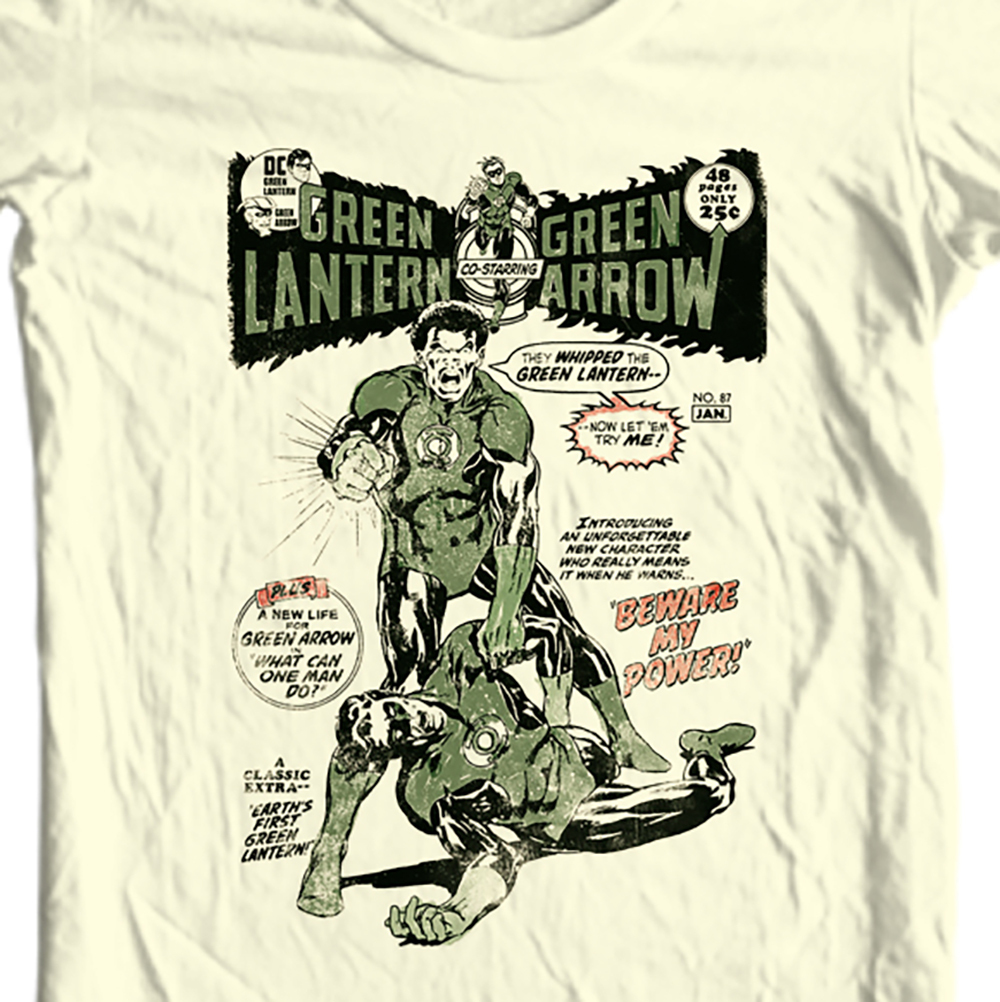 N hal jordan silver age dc comics t shirt for sale comic book cover green arrow tan online store