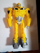 """2012 Transformers Prime Bumblebee Yellow 16"""" NON Transforming Action Figure Toy - $6.99"""