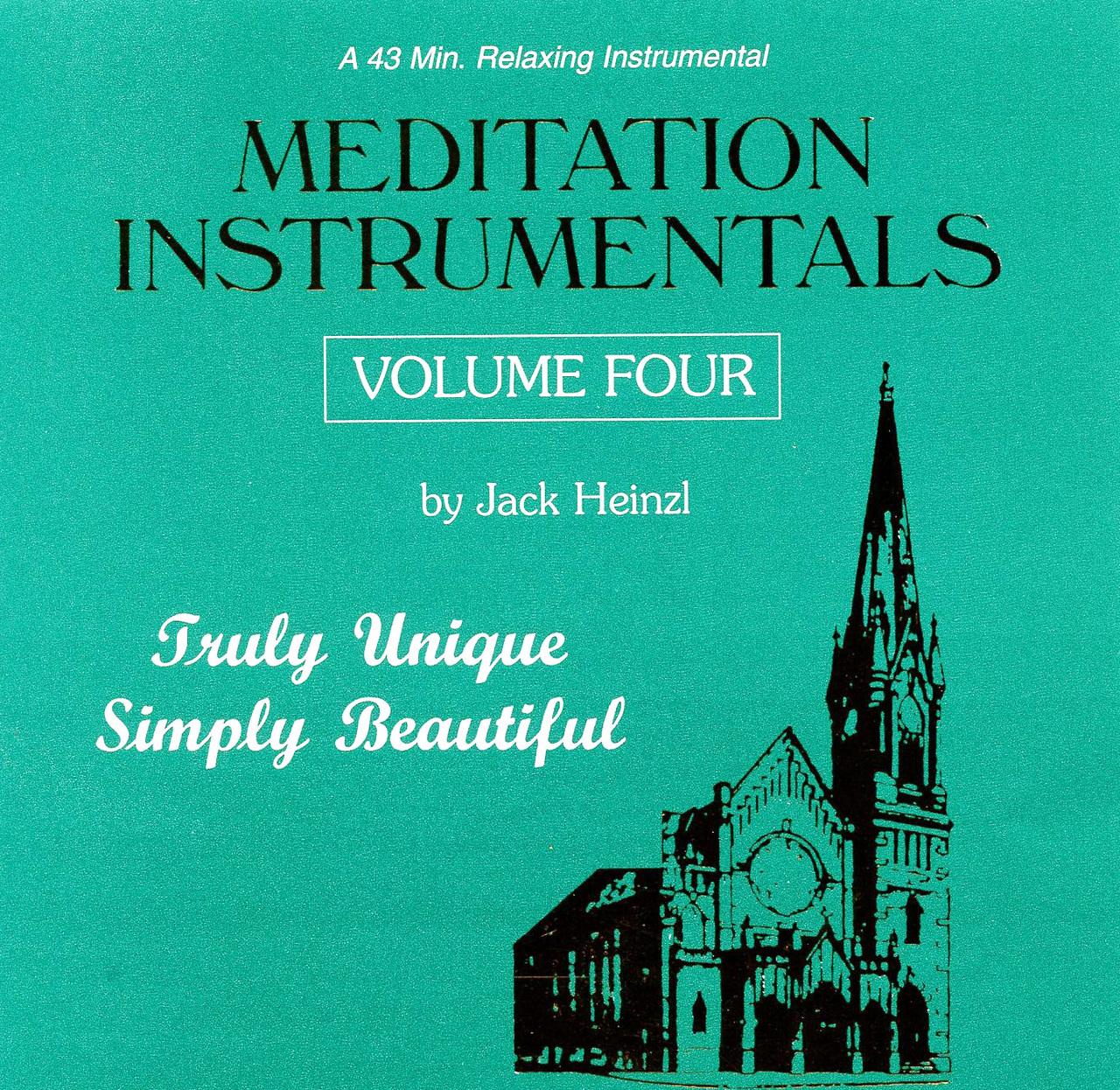 Meditation instrumentals   vol. 4 by jack heinzl