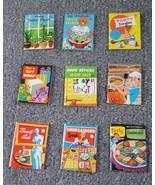 RARE Pygmy Cook Books & Mini Homemaker Books 1963 Ottenheimer Lot of 9 U... - $71.05