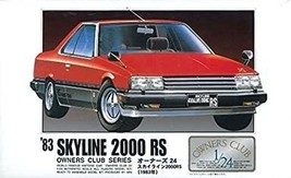 Arii Owners Club 1/24 11 1983 Skyline 2000 RS 1/24 Scale Kit (Microace) - $22.00