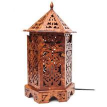 Marocain de lampe en bois Thuya marocain Rare l... - $85.00
