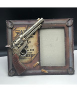 BILLY KID PICTURE FRAME photo Pat Garrett wanted dead alive reward colt ... - £21.17 GBP