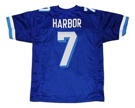Lance Harbor #7 Varsity Blues Movie New Men Football Jersey Blue Any Size image 5