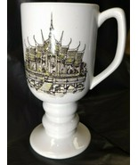 Asian Buddhist Temple Kayson Continental Cup 1965 Irish Coffee Pedestal ... - $12.73