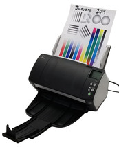 Fujitsu Fi-7160 PA03670-B085Color Duplex Document Scanner Bin:14 - $579.99