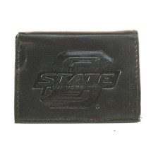 NCAA OSU Tri-Fold Black Leather Wallets Cowboys Teams   - $11.87
