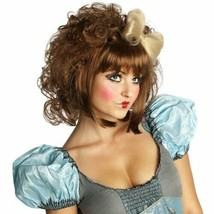 Rubie's Costume Cutie Doll Adult Costume Wig Brown, One Size - $14.01