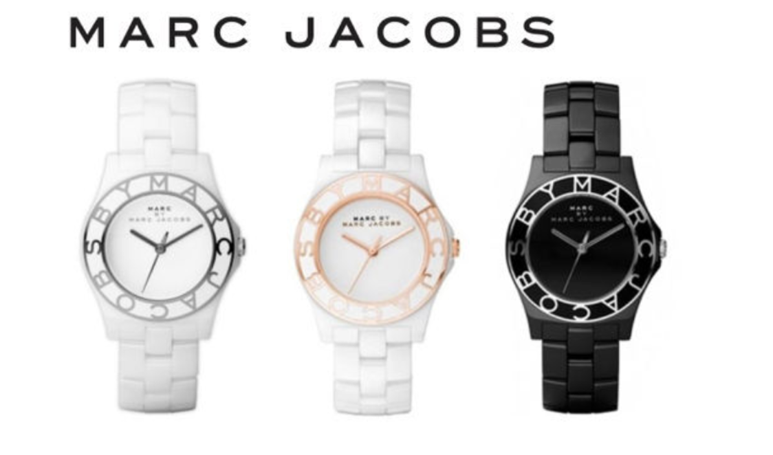 MARC BY MARC JACOBS MBM9500 MBM9501 MBM9502 Metal Band Watch with Free Gift - $219.00