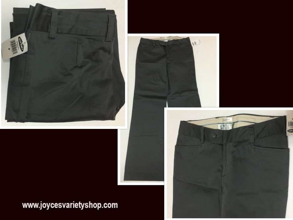 Old navy gray pants 8 web collage
