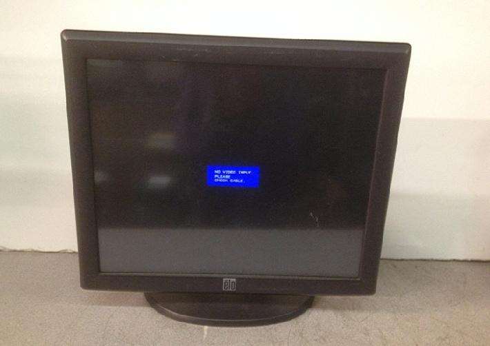 ELO ET1717L E603162 Touchscreen Monitor - $500.00