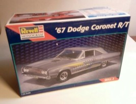REVELL MONOGRAM 1967 DODGE CORONET R/T MODEL KIT NEW IN BOX 85-7629 OLD ... - $39.15