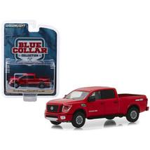 2018 Nissan Titan XD Pro-4X Pickup Truck Metallic Red Blue Collar Collec... - $12.46