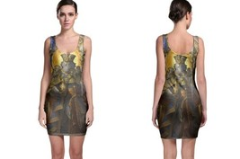King of Spades Golden Daniel BODYCON DRESS - $23.99+