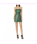 A|X Armani Exchange Women's Strapless Mini Dress with Stud Detailing, He... - $78.10