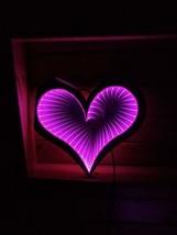 0'LITSTR 3D Heart Infinity Night Light Birthday/Valentine/Party/Bedroom Decorati - $38.10