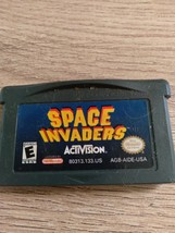 Nintendo Game Boy Advance GBA Space Invaders image 2