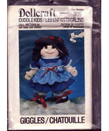 Dollcraft 1984, #305 Cuddle Kids, Giggles Soft Doll, Body Clothes, Giggl... - $8.00