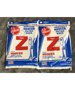 6 Hoover 4010075Z Type Z Canister Upright Vacuum Cleaner Paper Bags - Ge... - $9.89