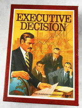 EXECUTIVE DECISION BUSINESS MANAGEMENT GAME 1971 3M COMPANY  - $12.87