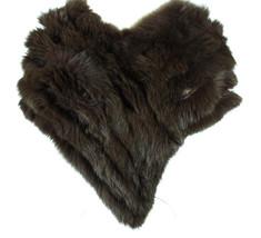 NWT GUCCI 295241 Fox Fur Shawl Cape, Brown - $1,104.15
